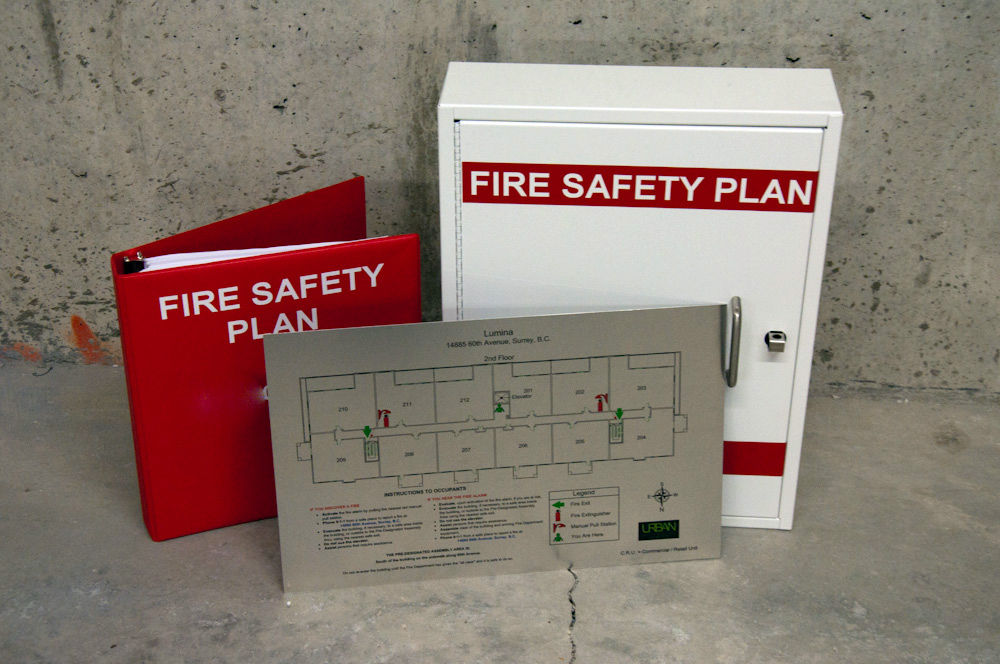 Urban Fire Safety Planning  Signs